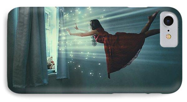 I Believe I Can Fly IPhone Case by Amanda Elwell