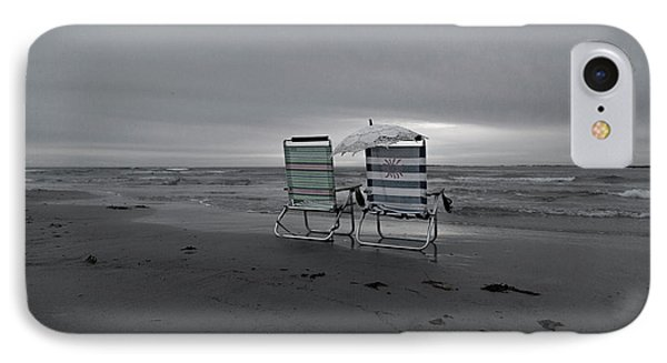 I Brought A Chair For You IPhone Case by Betsy Knapp