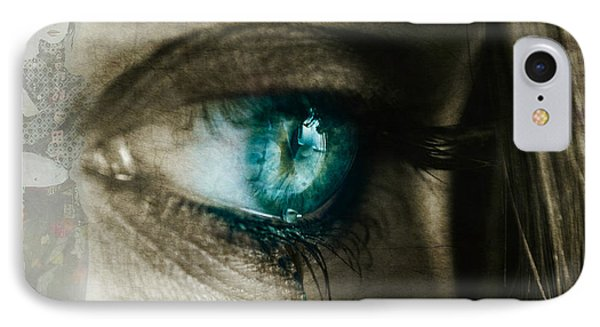 I Cried For You  IPhone Case by Paul Lovering