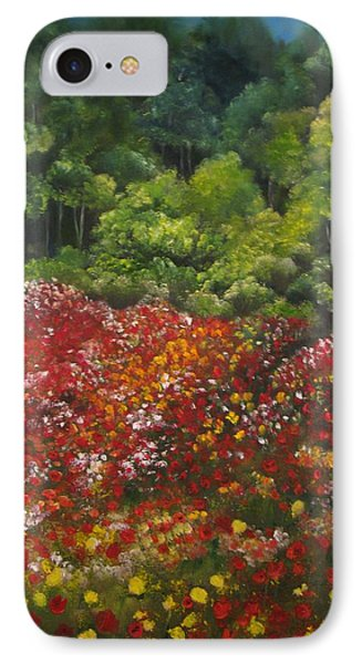 I Dream Of Poppies Phone Case by Carol Sweetwood