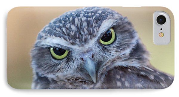IPhone Case featuring the photograph I Give A Hoot by Chris Scroggins