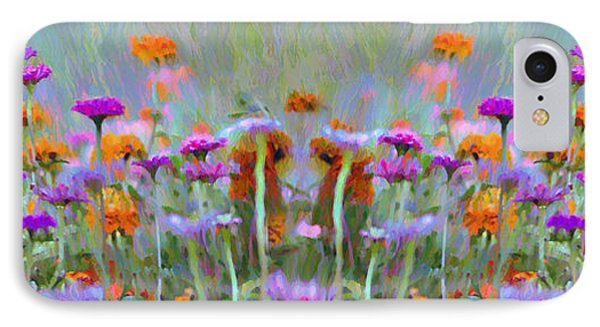 I Got To Get Back To The Garden Phone Case by Bill Cannon
