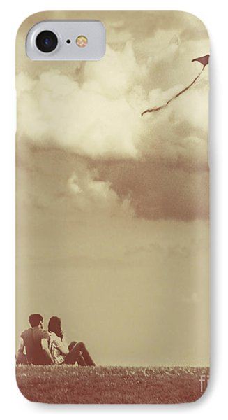 I Had A Dream I Could Fly From The Highest Swing IPhone Case by Dana DiPasquale