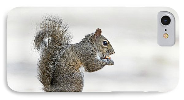 IPhone Case featuring the photograph I Have My Nuts by Deborah Benoit