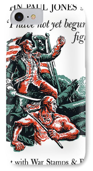 I Have Not Yet Begun To Fight Phone Case by War Is Hell Store