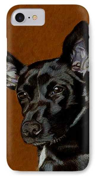 I Hear Ya - Dog Painting IPhone Case