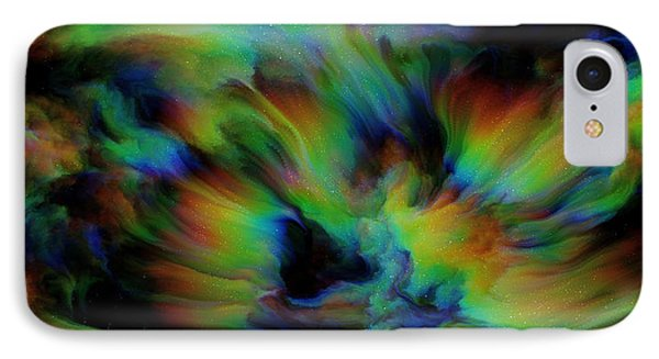 Show Sum Spinal Nebula IPhone Case by Betsy Knapp