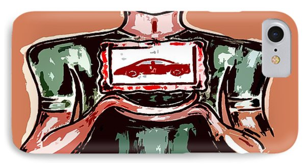 I Love My Car IPhone Case by Patrick J Murphy