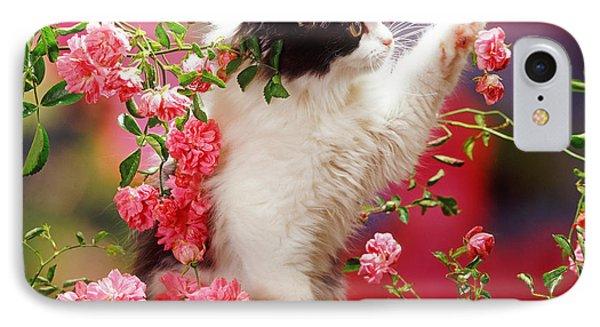 I Love Roses IPhone Case