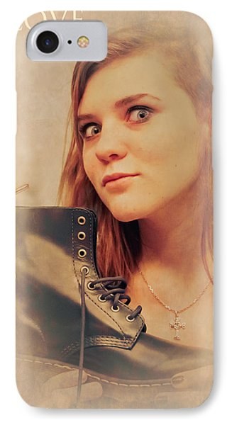 I Love Shoes Phone Case by Loriental Photography