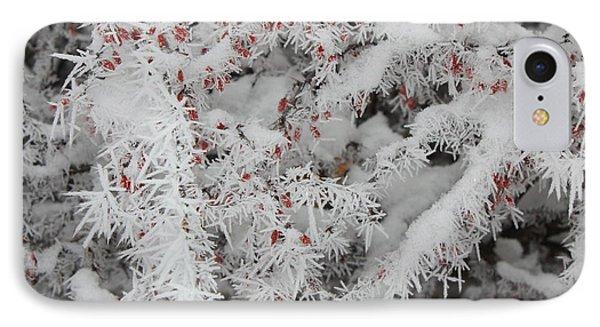 I Love Winter Phone Case by Carol Groenen