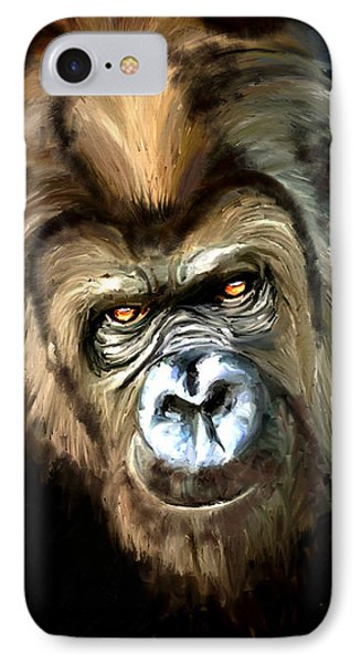 Gorilla Portrait IPhone Case