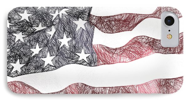 I Pledge Allegiance, No. 1a IPhone Case by Will Barger