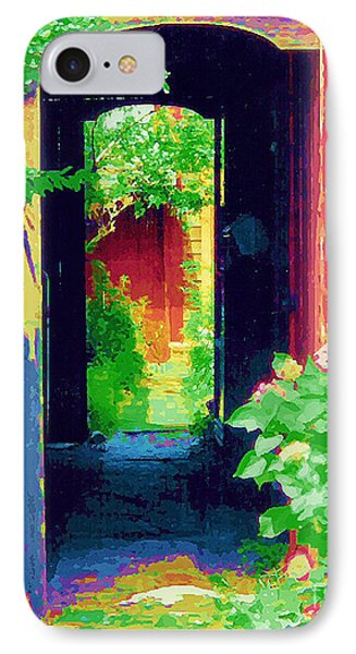 I Stand At The Door And Knock IPhone Case