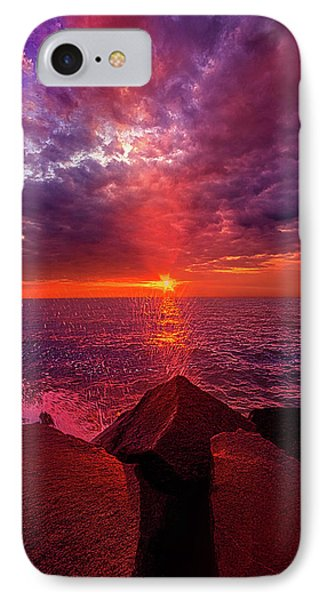 IPhone Case featuring the photograph I Still Believe In What Could Be by Phil Koch