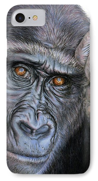 I Think Therefore I Am IPhone Case by Sarah Batalka