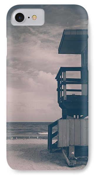 IPhone Case featuring the photograph I Was Checkin' On The Surfin' Scene by Yvette Van Teeffelen