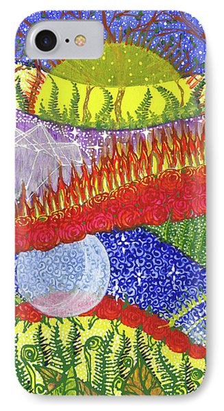 IPhone Case featuring the painting I Will Have You And You Will Have Me #2 by Kym Nicolas