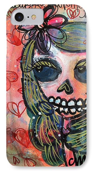 I Would Like You To Love Me Phone Case by Laurie Maves ART