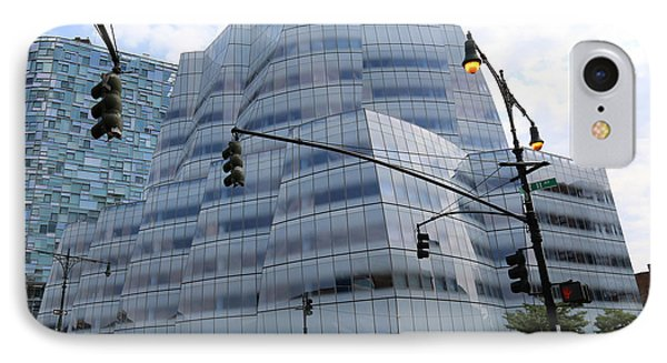 Iac Building By Frank Gehry In Chelsea IPhone Case by Steven Spak