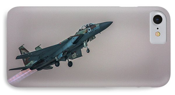 IPhone Case featuring the photograph Iaf F-15i Ra'am by Amos Dor