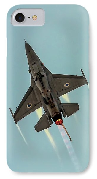 IPhone Case featuring the photograph Iaf F-16i Sufa by Amos Dor