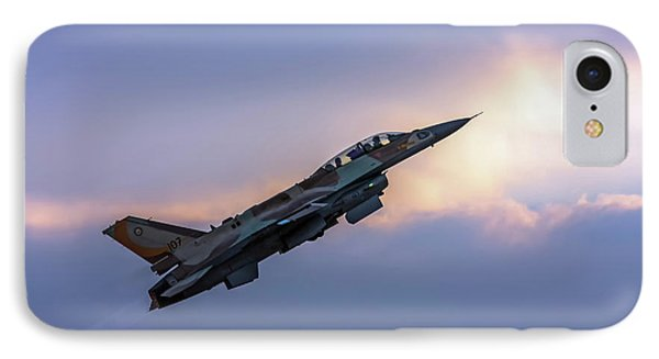 IPhone Case featuring the photograph Iaf F-16i Sufa Nr. 107 by Amos Dor