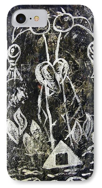Ibis Fish And Water   A Trinity IPhone Case by Mimulux patricia no No