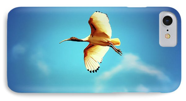 Ibis Of Light IPhone Case