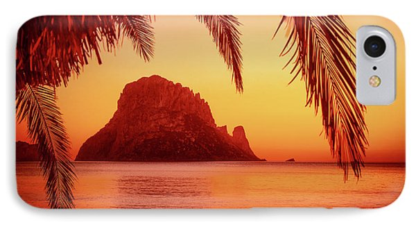 Ibiza Sunset IPhone Case by Iryna Goodall