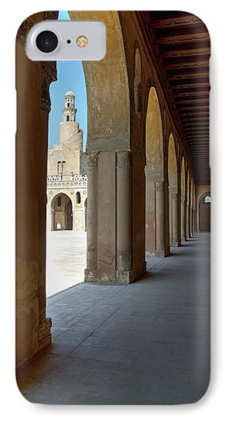 Ibn Tulun Great Mosque Phone Case by Nigel Fletcher-Jones