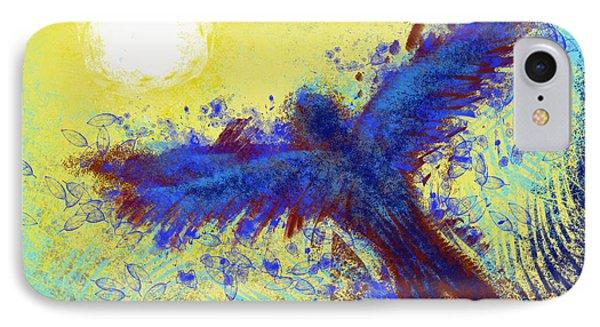 IPhone Case featuring the digital art Icarus by Antonio Romero