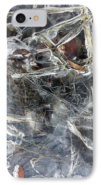 Ice Art I IPhone Case by Joanne Smoley