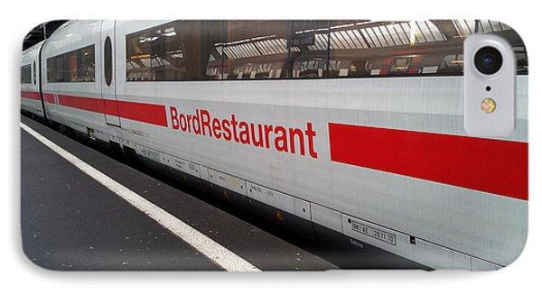 Ice Bord Restaurant At Zurich Mainstation IPhone Case