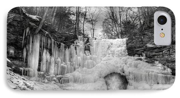 Ice Castle Phone Case by Lori Deiter