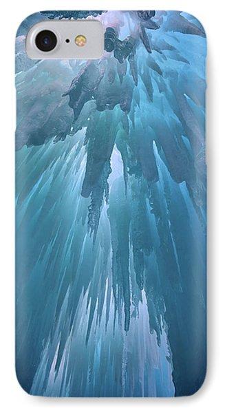 Ice Cavern IPhone Case by Rick Berk