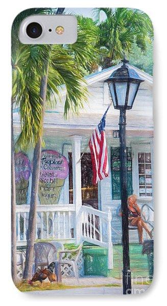 Ice Cream In Key West IPhone Case