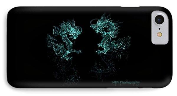 Ice Dragons Phone Case by Chad Hamilton