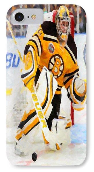 Ice Hockey Goalie  Phone Case by Lanjee Chee