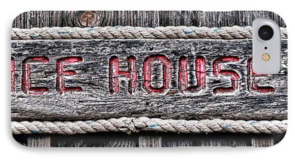 Ice House IPhone Case by Olivier Le Queinec