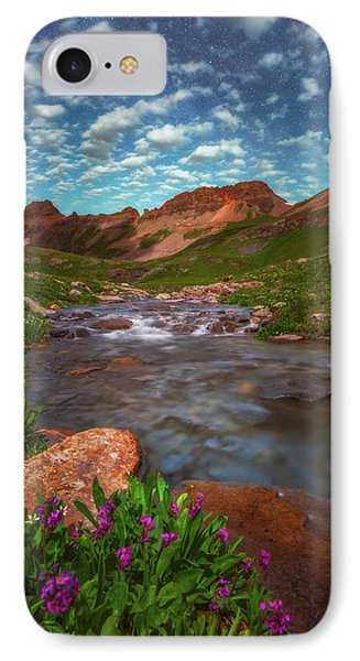 IPhone Case featuring the photograph Ice Lake Nights by Darren White