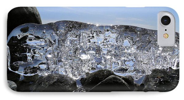 IPhone Case featuring the photograph Ice On Rocks 3 by Sami Tiainen