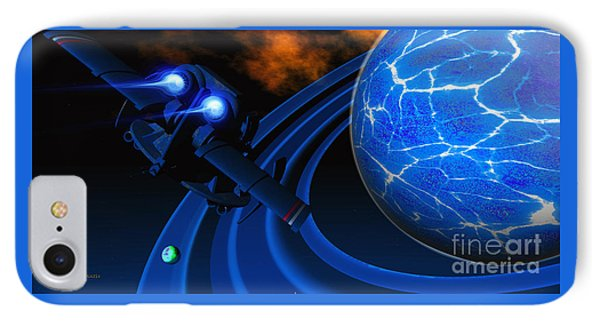 Ice Planet Phone Case by Corey Ford