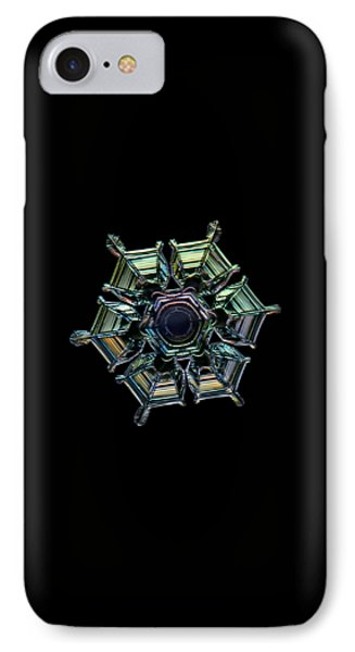 IPhone Case featuring the photograph Ice Relief, Black Version by Alexey Kljatov