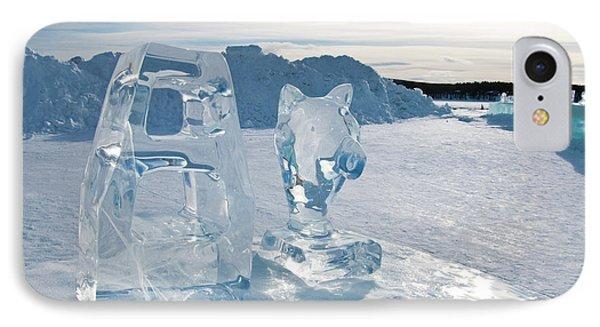Ice Sculpture IPhone Case by Tamara Sushko