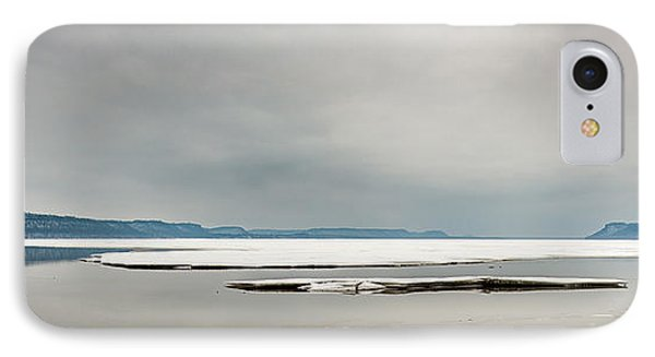 IPhone Case featuring the photograph Ice Sheet by Dan Traun