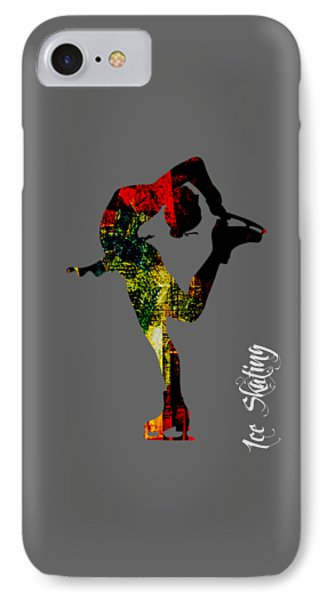 Ice Skating Collection IPhone Case by Marvin Blaine