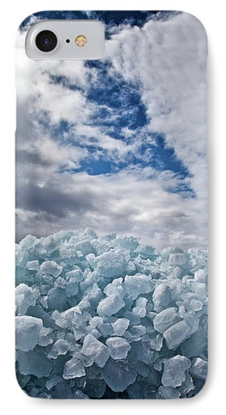 Ice Wall II Phone Case by Brian Boudreau