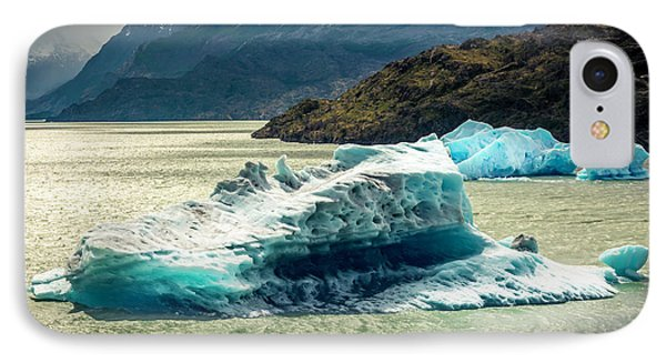 IPhone Case featuring the photograph Iceberg by Andrew Matwijec
