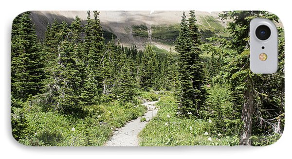 Iceberg Lake Trail Forest IPhone Case